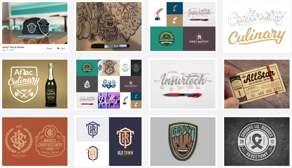 mike jones graphic designs from dribbble