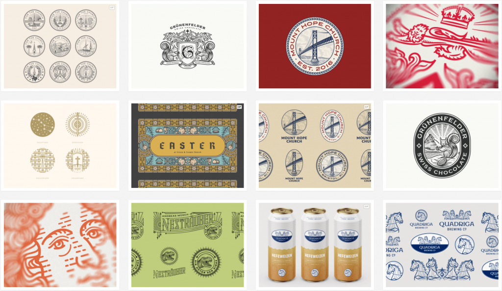 peter voth graphic design from dribbble